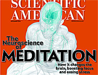 magazine cover - Scientific American